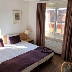 Olympia Hotel Zurich 3* Стандартный номер с двуспальной кроватью фото 5