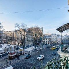 City Central Lviv Hostel балкон