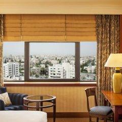 Отель Le Grand Amman 5* Улучшенный номер с различными типами кроватей фото 5
