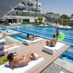 Q Spa Resort Турция, Сиде - отзывы, цены и фото номеров - забронировать отель Q Spa Resort онлайн бассейн фото 3