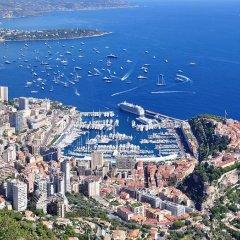 Отель Apart a Nice : A Breathtaking View on the Sea Ницца приотельная территория