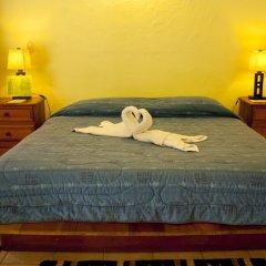 Hotel Jaguar Inn Tikal 3* Бунгало с различными типами кроватей фото 4