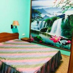 Гостиница Медовая Стандартный семейный номер с двуспальной кроватью фото 6