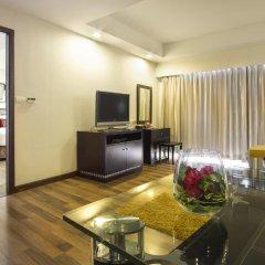 Отель D Varee Jomtien Beach 4* Представительский люкс с различными типами кроватей фото 2