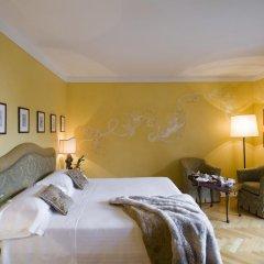 Отель L'Albereta, Relais & Chateaux 5* Улучшенный номер с различными типами кроватей фото 2