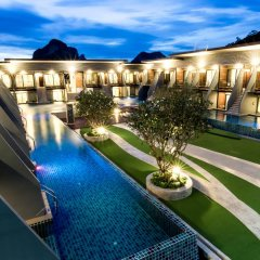 Отель The Phu Beach Hotel Таиланд, Краби - отзывы, цены и фото номеров - забронировать отель The Phu Beach Hotel онлайн балкон