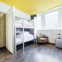Euro Hostel Glasgow Стандартный номер с двуспальной кроватью фото 4
