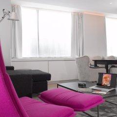 Thon Hotel EU 4* Стандартный номер с различными типами кроватей
