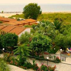 Отель Village Mare пляж фото 2