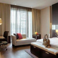 Отель The Boulevard Arjaan by Rotana 5* Студия с различными типами кроватей фото 5
