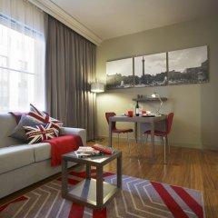 Отель Citadines Trafalgar Square London 3* Апартаменты с различными типами кроватей фото 6
