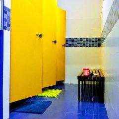 Yellow Nest Hostel Barcelona Кровать в общем номере с двухъярусной кроватью фото 3