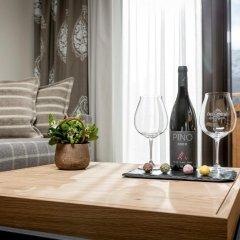 Отель Das Central – Alpine . Luxury . Life в номере