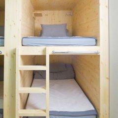 KW Hongdae Hostel Кровать в женском общем номере с двухъярусной кроватью фото 4