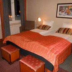 Fagerlund Hotel 2* Стандартный номер с двуспальной кроватью (общая ванная комната)