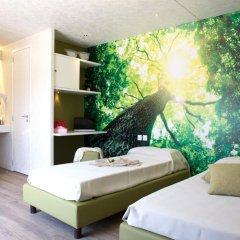 Отель Camping Village Roma Улучшенное бунгало с различными типами кроватей фото 3