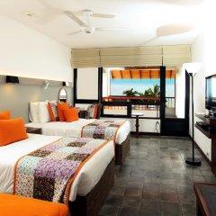 Отель Hikka Tranz by Cinnamon 4* Улучшенный номер с различными типами кроватей фото 2