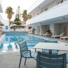 Отель More Meni Residence Греция, Калимнос - отзывы, цены и фото номеров - забронировать отель More Meni Residence онлайн бассейн фото 2