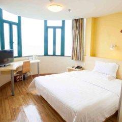 Отель 7 Days Inn Xinyu Train Station Branch комната для гостей фото 3