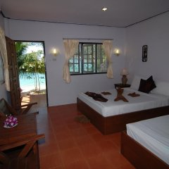 Отель Adarin Beach Resort 3* Улучшенное бунгало с различными типами кроватей фото 28