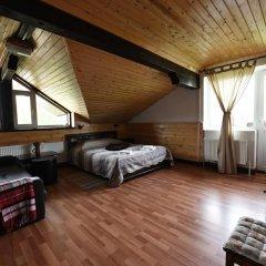 Гостиница Куршале Стандартный семейный номер разные типы кроватей фото 7