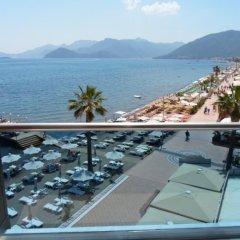 Mehtap Beach Hotel 3* Улучшенный номер с различными типами кроватей фото 2