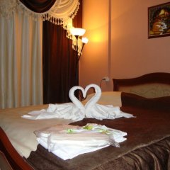 Мини-отель ФАБ 2* Номер Комфорт двуспальная кровать фото 3