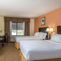 Отель Holiday Inn Express and Suites Lafayette East 2* Стандартный номер с 2 отдельными кроватями фото 2