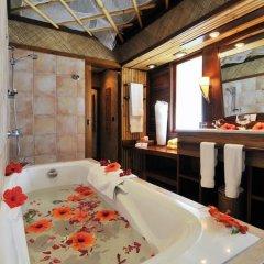 Отель InterContinental Le Moana Resort Bora Bora 4* Бунгало с различными типами кроватей фото 4