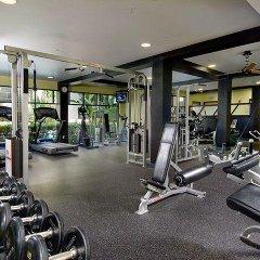Отель Spacious Penthous @ 1010 Wilshire фитнесс-зал фото 2