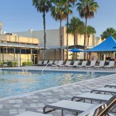 Отель DoubleTree by Hilton at the Entrance to Universal Orlando бассейн фото 2