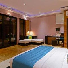 Отель Adaaran Prestige Vadoo 5* Вилла с различными типами кроватей фото 22