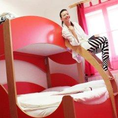 Chillout Hostel Zagreb Кровать в общем номере с двухъярусной кроватью фото 7