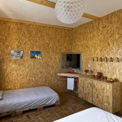 Tribo da Praia - Eco Hostel комната для гостей фото 4