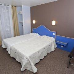Отель Hipotel Paris Pere-Lachaise Republique 3* Стандартный номер с двуспальной кроватью фото 2
