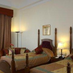 Отель Le Méridien Jaipur Resort & Spa 5* Улучшенный номер с различными типами кроватей фото 4