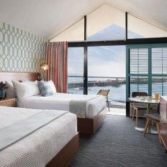 Отель Dream Inn Santa Cruz 4* Представительский номер с различными типами кроватей фото 3