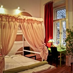 Hostel Budapest Center Стандартный номер с двуспальной кроватью фото 18
