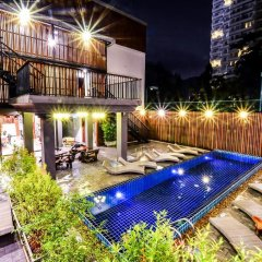 Апартаменты Nin Apartments Karon Beach бассейн фото 2