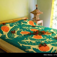 Hotel Hibiscus 3* Стандартный номер с двуспальной кроватью фото 9
