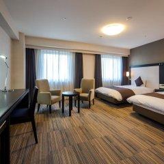 Daiwa Roynet Hotel Oita 3* Стандартный номер с различными типами кроватей фото 9