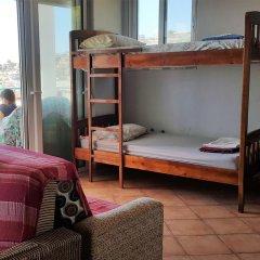 Hakuna Matata Hostel Кровать в общем номере с двухъярусной кроватью