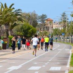 Отель Villa Beach City спортивное сооружение