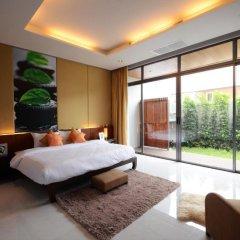 Отель AQUA Villas Rawai 4* Стандартный номер с разными типами кроватей фото 41