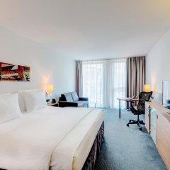 Отель Hilton Garden Inn Stuttgart Neckar Park 3* Стандартный номер с различными типами кроватей фото 3