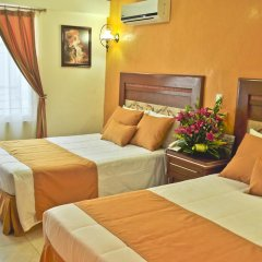 Hotel Villa Las Margaritas Sucursal Caxa 3* Стандартный номер с различными типами кроватей фото 2