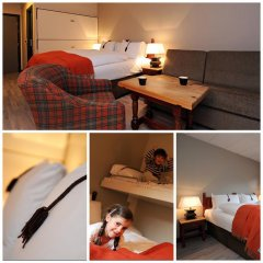 Отель Hunderfossen Hotell & Resort 3* Стандартный семейный номер с двуспальной кроватью фото 9