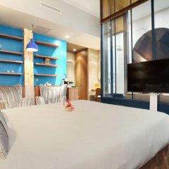 Отель Le Robinet dOr 3* Стандартный номер с различными типами кроватей фото 9