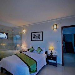 Отель Starfruit Homestay Hoi An 2* Улучшенный номер с различными типами кроватей фото 11