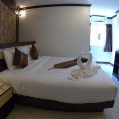 Patong Mansion Hotel 3* Улучшенный номер двуспальная кровать фото 4